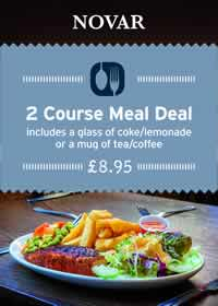 2 Course Meal Deal